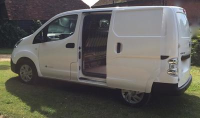 Longer Small Van eg-Nissan NV200 or similar