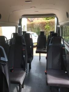 2016/17-14 Seater Minibus eg. Citroen Relay35 (3.5tonne GVW)