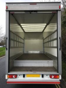 2016-3.5 Tonne Luton with Rear Dropwell eg. Citroe Relay 35 Spacevan