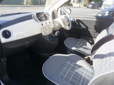 2016/17-Mini eg. Fiat 500 1.2 Lounge 3 door