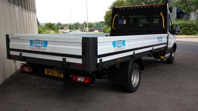 3.5 Tonne Truck eg-.Ford Transit 350 LWB Dropside