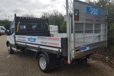 3.5 Tonne with Tail Lift eg-Ford Transit 350 LWB Dropside T/Lift