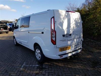2018/19-5/6 Seater Medium Kombi Crewvan Transit Custom 290 Limited