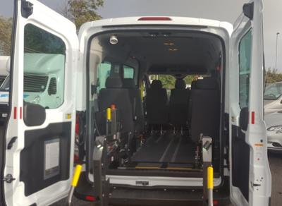 Wheelchair Accessible Vehicle eg-Ford Transit L2 H2 Minibus